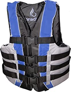Bradley Fully Enclosed Deluxe 4-Buckle Adult Life Jacket Vest