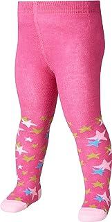 Playshoes Kinder-Strumpfhose für Jungen und Mädchen, elastische Baumwoll-Strumpfhosen mit Komfortbund, schadstoffgeprüft, mit Sternen-Muster