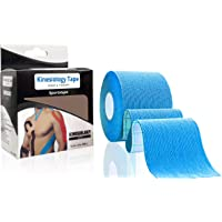 1 Roll illuOkey Athletic Injury Recovery First Aid Therapy Support (Blue)