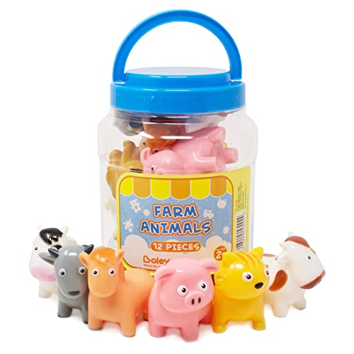 Animals & Dinosaurs Honesty Pig With Bottle Set Mini Toy Action Figures