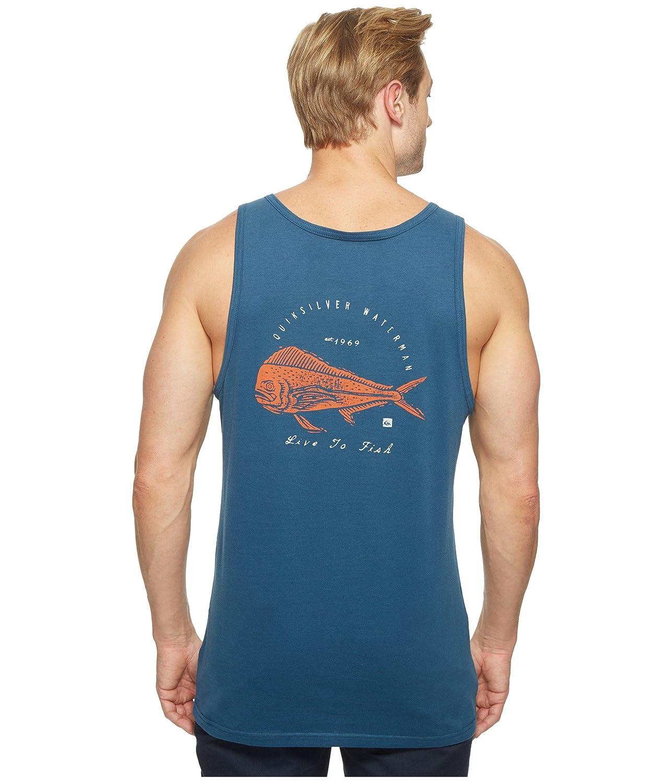 [クイックシルバー] Quiksilver Waterman メンズ Live to Fish Short Sleeve Tank Top トップス [並行輸入品]