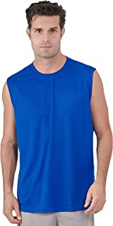 Russell Athletic Men's Dri-Power Performance Mesh Sleeveless Muscle