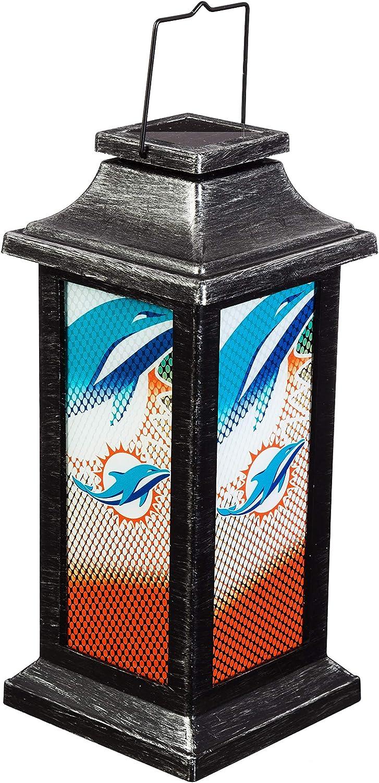 Sale price Team Sports America Light Up Solar Dolp Lantern Garden Miami Max 67% OFF for