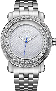 JBW Mens Quartz Watch, Analog Display and Stainless Steel Strap J6338A