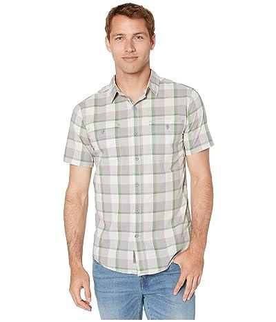 Royal Robbins Point Lobo Short Sleeve Shirt (Light Pewter) Men