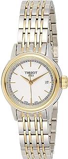 Tissot Carton Quartz Silver Tone Strap Watch - T085.210.22.011.00, white