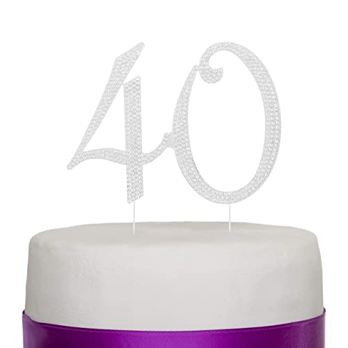 Fabulous 40Th Birthday Cake Amazon Co Uk Funny Birthday Cards Online Overcheapnameinfo