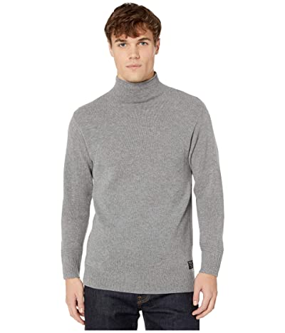 Scotch & Soda Chic Soft Wool-Blend Pullover (Charcoal Melange) Men