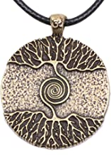 Paw Paw House Yoga Inspired Kybalion Pendant Necklace Amulet Tree of Life Talisma Chi As Above As Below As Within As Without Meditation