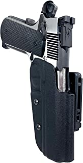 leather lined kydex holster 1911