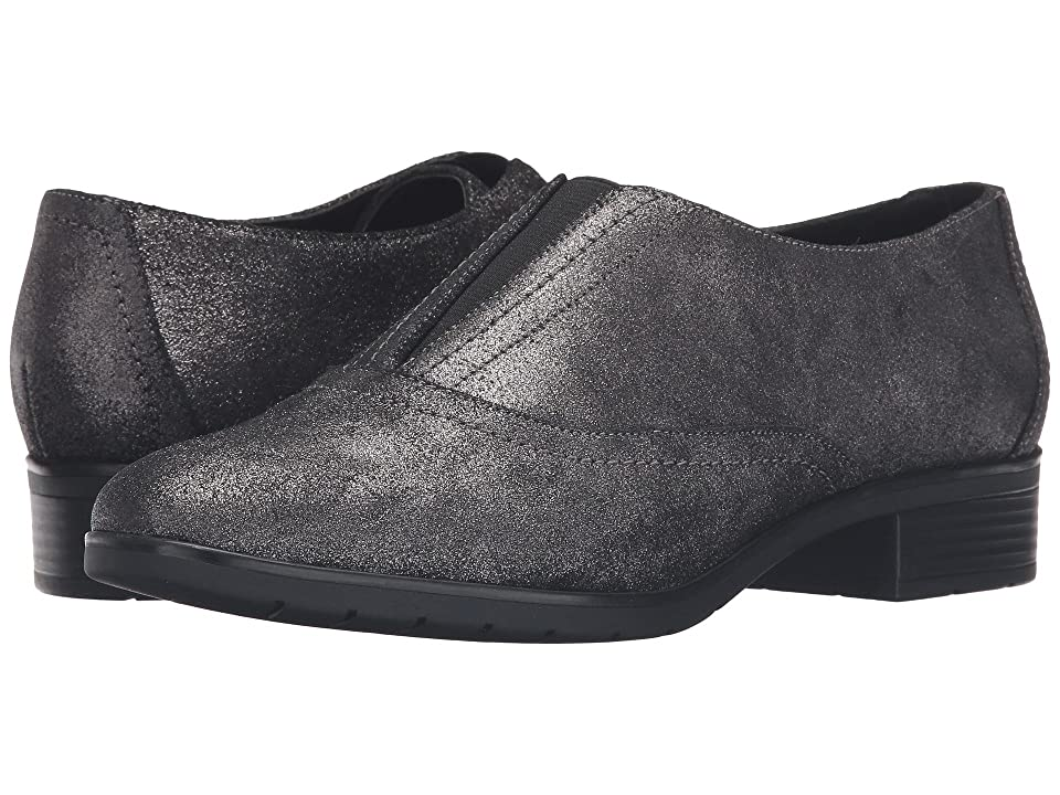 Easy Spirit Neota (Pewter/Black Suede) Women