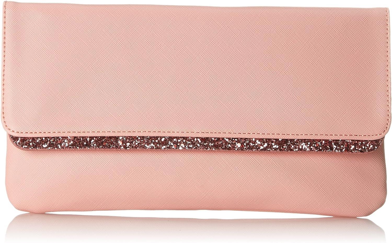ESPRIT 028ea1o050, Women's Clutch, Pink (Light Pink), 1x15x28 cm (B x H T)