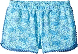 Sea Turtles Pull-On Knit Shorts (Toddler/Little Kids/Big Kids)