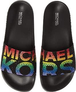 Womens Open Toe Casual Slide Sandals