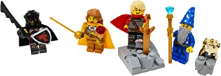 LEGO King Arthur, Lancelot, Merlin, and Mordred Toy - Custom Medieval Arthurian Knights Minifigure