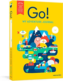 Go! (Yellow): A Kids' Interactive Travel Diary and Journal (Wee Society)