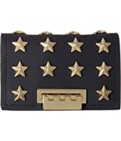 ZAC Zac Posen - Earthette Card Case with Chain - Star Stud