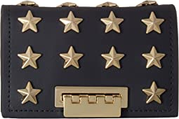 ZAC Zac Posen Earthette Card Case with Chain - Star Stud