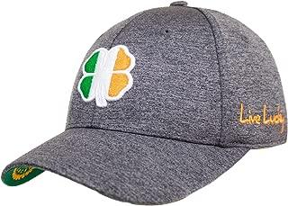 Black Clover Flag Lucky Hat - Ireland Heather - Size S/M, Gray / White