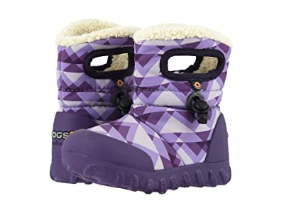 Bogs Kids B Moc Mountain (Toddler/Little Kid) (Purple Multi) Girls Shoes
