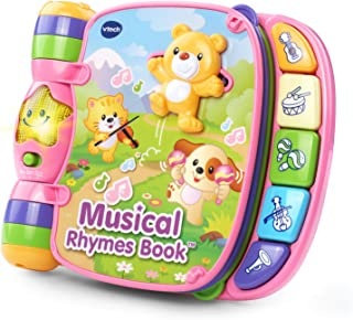 VTech Musical Rhymes Book, Pink