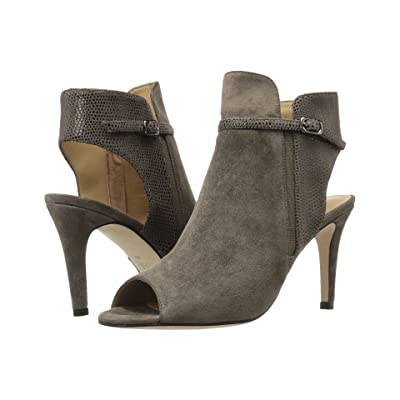 Vaneli Birgit (Taupe Suede/Match Elastic Print/Match Elastic) High Heels