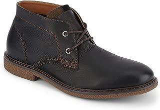 Mens Greyson Leather Casual Chukka Boot