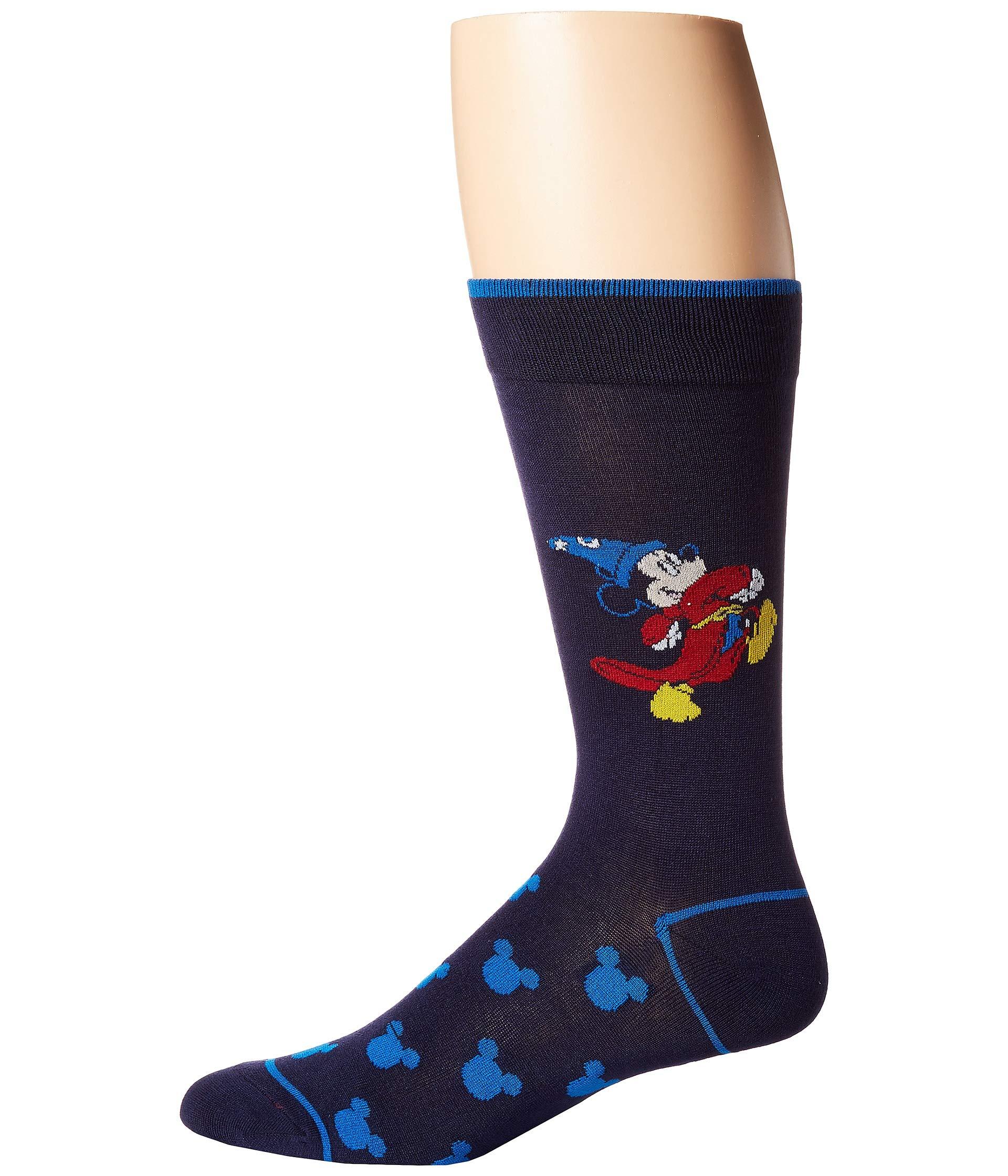 Socks Mouse Cufflinks Blue Fantasia Inc Mickey Navy tvvXqr