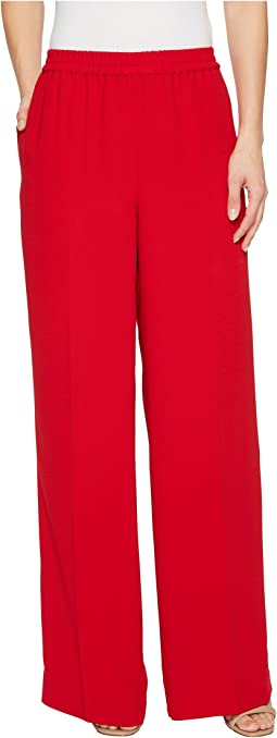 Vince Camuto - Matte Shine Crepe Wide Leg Pull-On Pants
