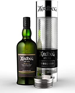 Ardbeg AN OA Islay Single Malt Scotch Whisky 46,6% Volume 0,7l in Geschenkbox mit BBQ Smoker Whisky