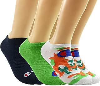 Champion LIFE Men's Super No Show Socks 3-Pack, Camo