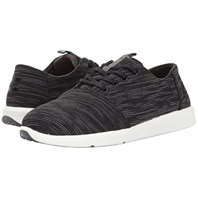 TOMS Del Rey (Black Multi Knit) Men