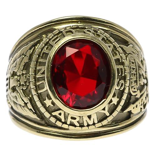Sleek Tiger Eye Oval 18K Gold Overlay Mens Ring Size 10