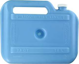 Rubbermaid Marine Ice Chest / Cooler, Blue, Iceolater Reusable Ice Pack (FG2B4600BLUE)