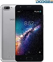Unlocked Cell Phones, DOOGEE X20 Cell Phones Unlocked Android 7.0-5.0 Inch HD IPS Display - MT6580 Processor - 2GB RAM +16GB ROM - 2MP+ Dual 5MP Camera - 3G Unlocked Smartphones - Silver