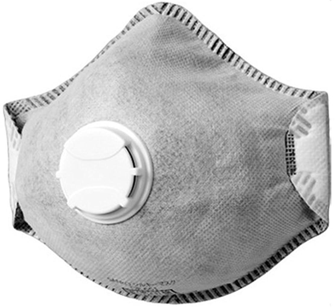 ブレーキ四分円去るSANKO シルキーマスク 排気弁付き?活性炭入り 10枚入×20箱セット (計200枚) DS2合格品(N95同等) PM2.5対応 DF651N