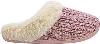 دمپایی فوم حافظه زنانه IZOD ، لباسی گرم زمستانی بر روی چله ، سایز زنانه 5 تا 12
