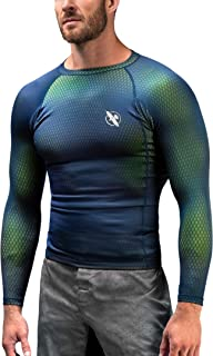 Hayabusa | Men's Fusion Long Sleeve BJJ Rash Guard