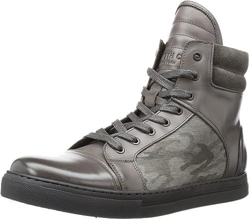 Kenneth Cole New York Hommes's DOUBLE HEADER chaussures, dark gris, 7.5 M US