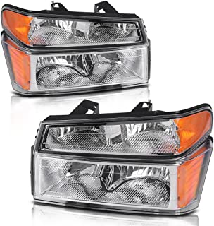 2005 chevy colorado headlight lens