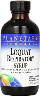 Planetary Herbals Loquat Respiratory Syrup,4 Fluid Ounce