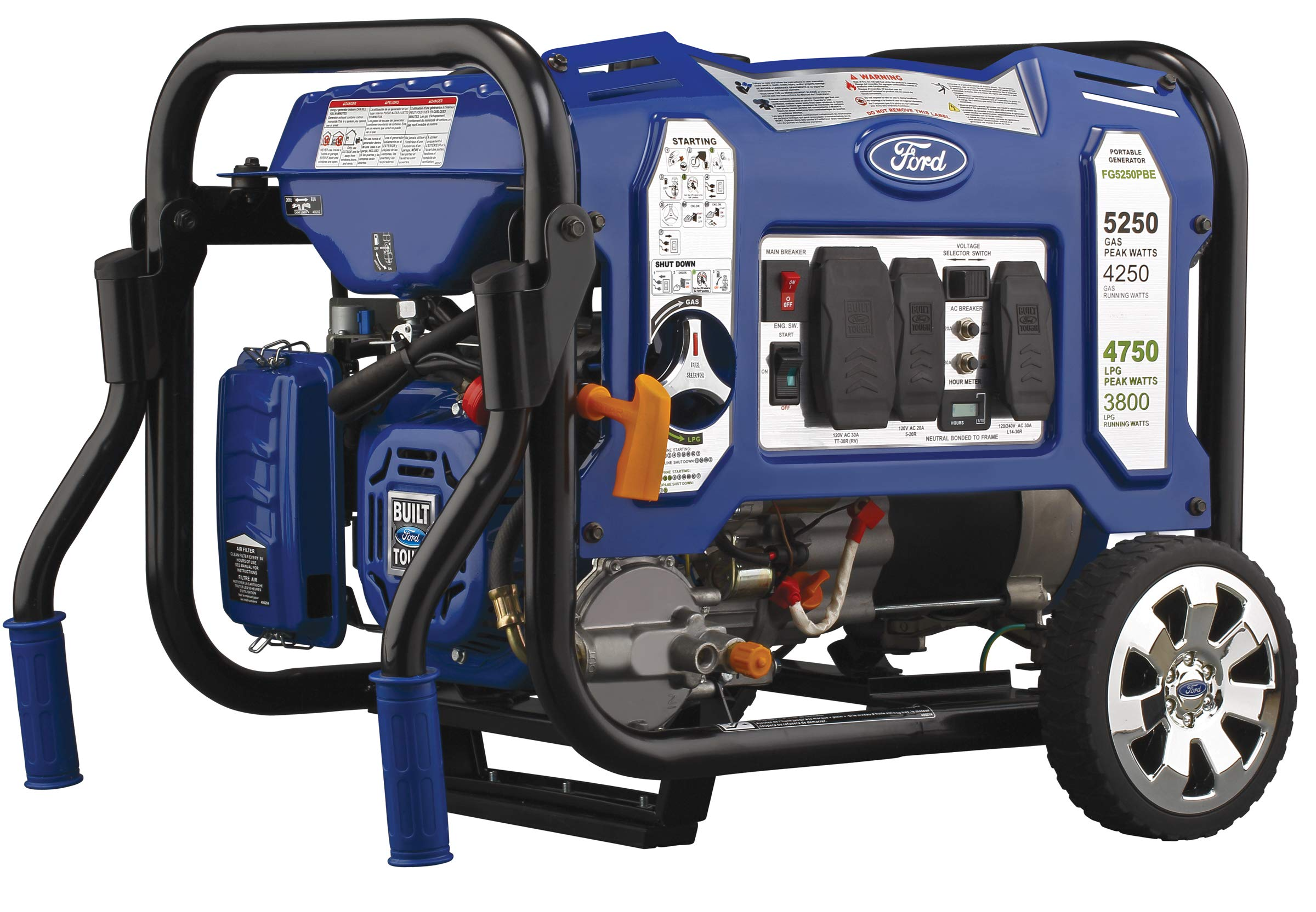 Ford FG5250PBE Portable Generator Technology