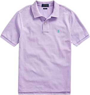Boys Classic Mesh Polo Shirt