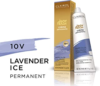 Clairol Permanent Crème, 10v Lavender Ice, 2 oz