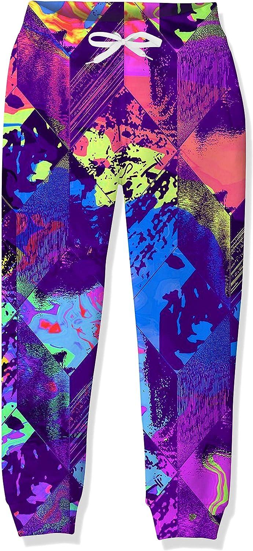 UNICOMIDEA Boys Girls Jogger Pants Funny 3D Graphic Sweatpants Athletic Sports Pants for Kids 6-16 yrs