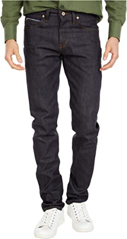 Super Guy in Forever Blue Stretch Selvedge Jeans