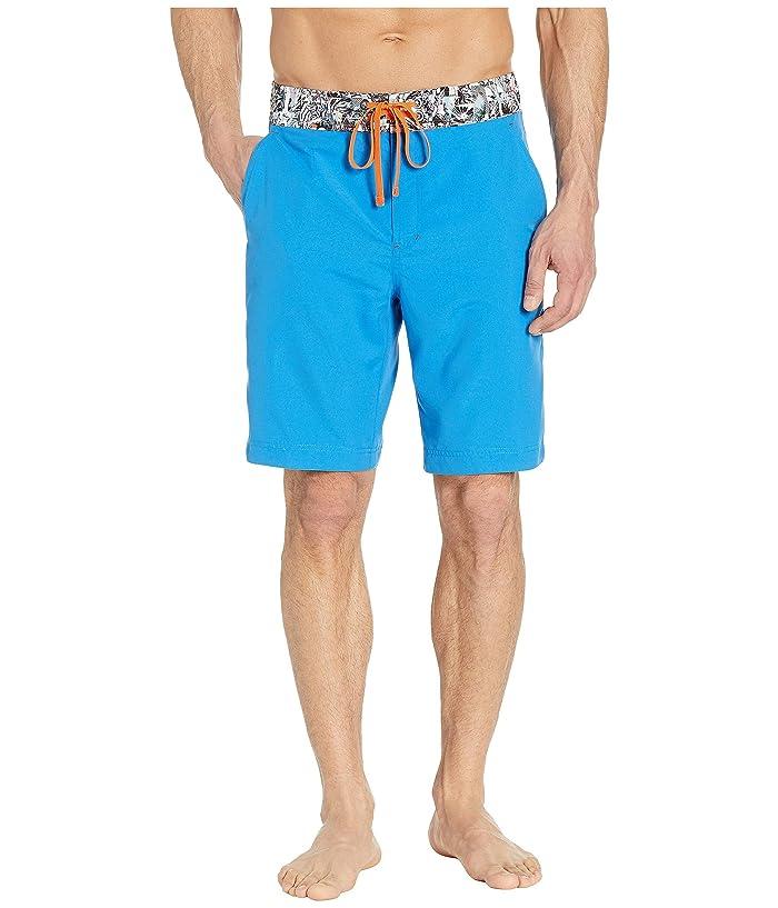 Robert Graham Captain Good Woven Swim Shorts (Cobalt) Men