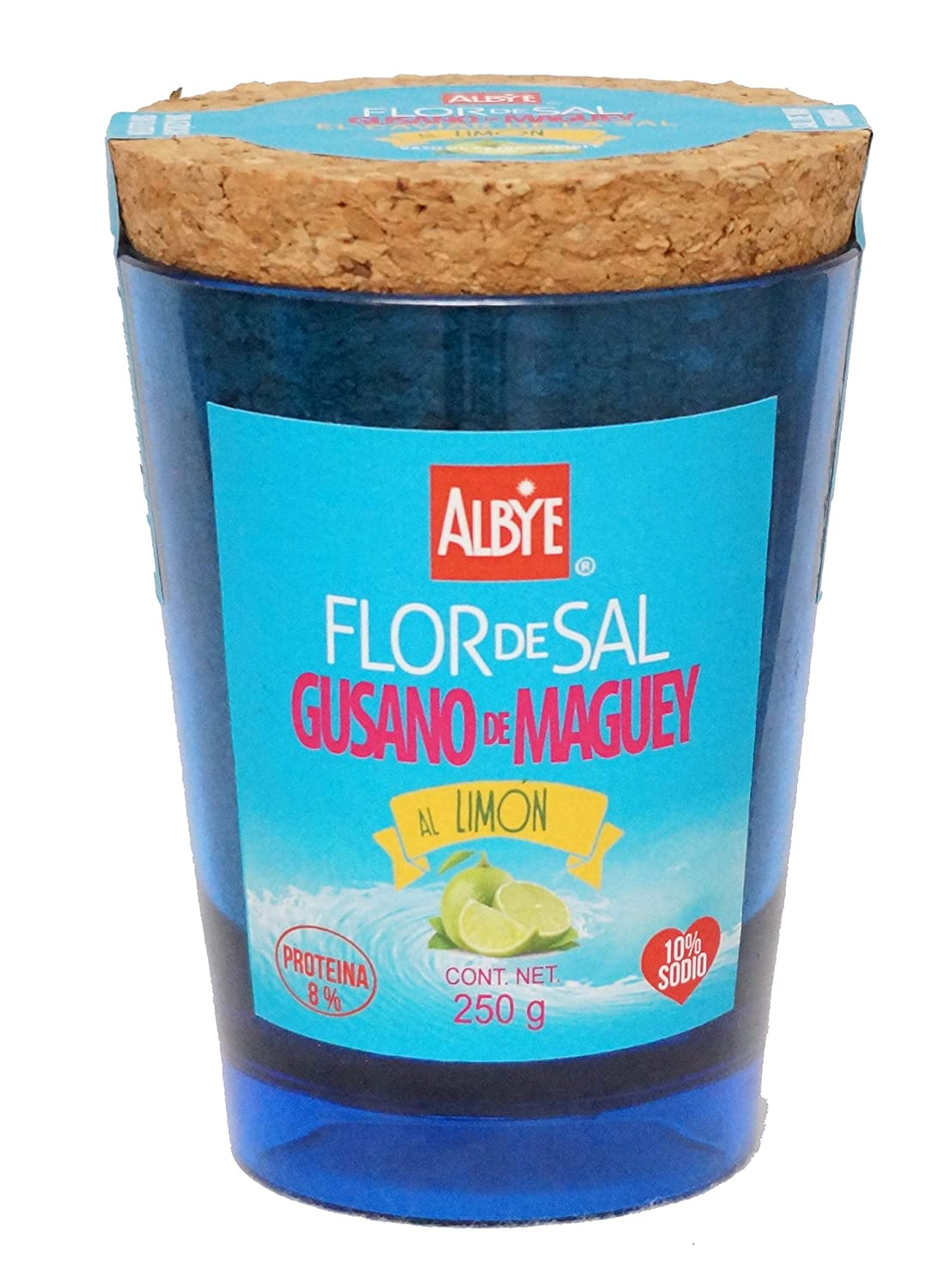Maguey Worm´s Organic Sea Salt to the 10% g Low 200 New color All items free shipping Sodium Lemon