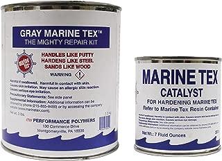 Marine Tex Might Repair Kit 2 Ounce, Gray