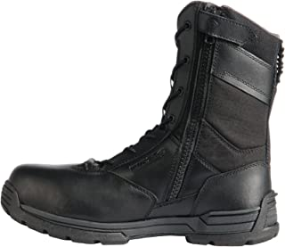 First Tactical Men's 8 Safety Toe Side Zip Duty Boot (Wide)